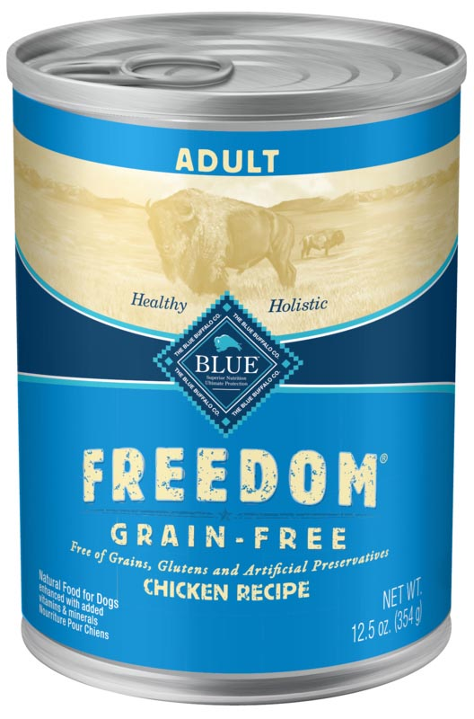 BLUE Freedom Grain-Free Chicken Recipe For Adult Dogs, 12.5 oz