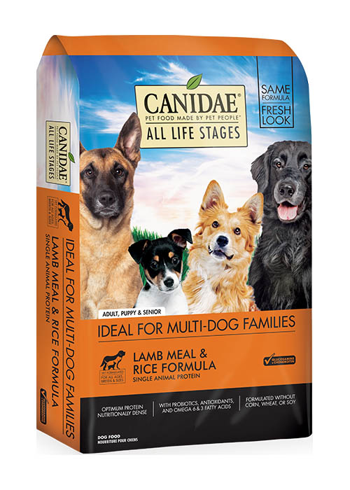 Canidae All Life Stages Lamb & Rice Premium Dry Dog Food, 30 lbs