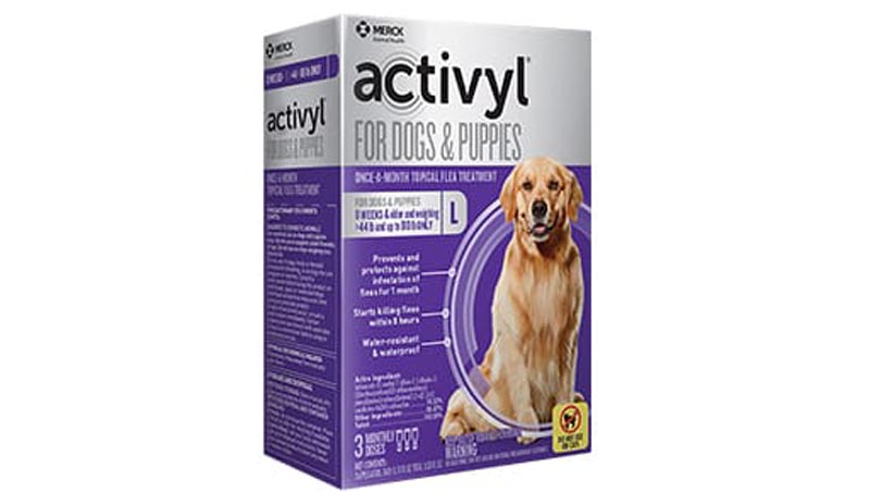 Activyl Topical For Dogs 44-88 lbs