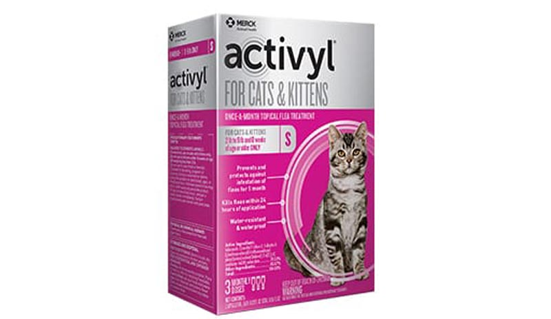 Activyl Topical For Cats 2-9 lbs
