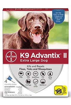 K9 Advantix II For Extra Large Dogs, 55+ lbs
