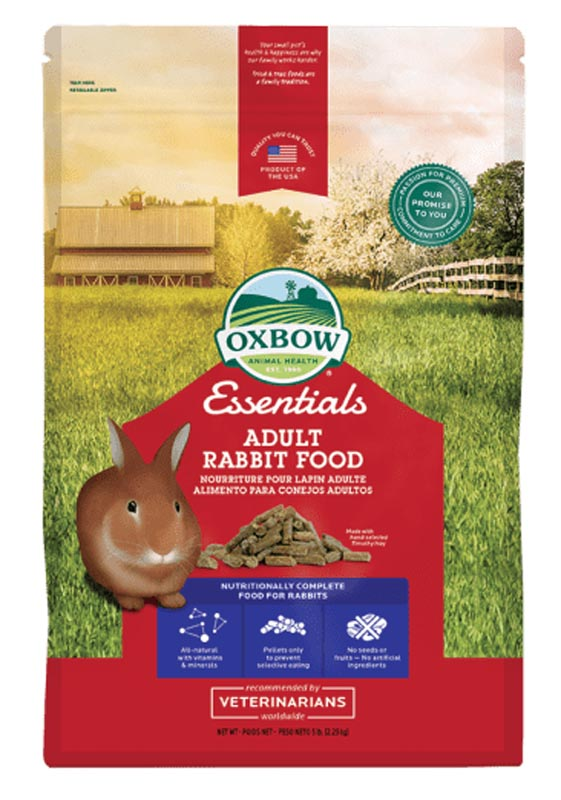 Oxbow Essentials Adult Rabbit Food, 5 lbs