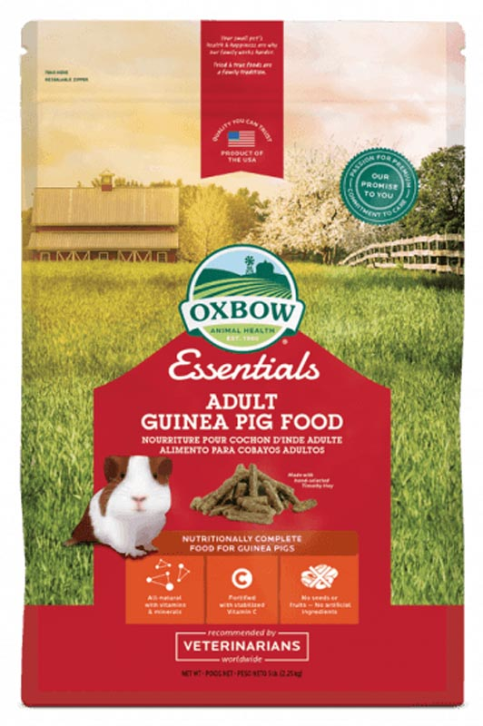 Oxbow Essentials Adult Guinea Pig Food, 5 lbs