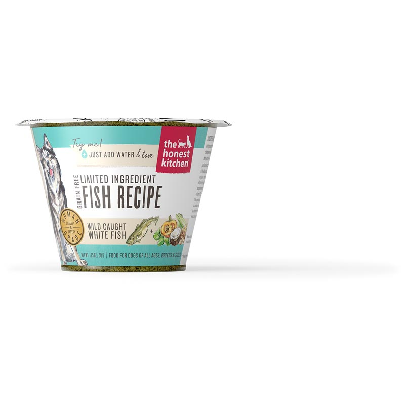 The Honest Kitchen Dehydrated - Limited Ingredient Fish Recipe (Brave), 1.75