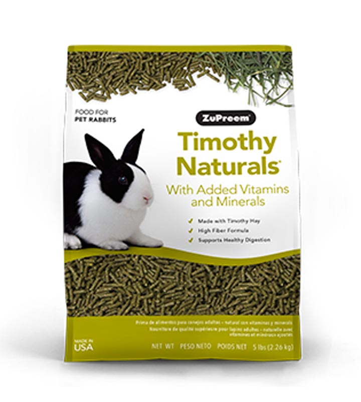 ZuPreem Timothy Naturals Rabbit Food, 5 lbs