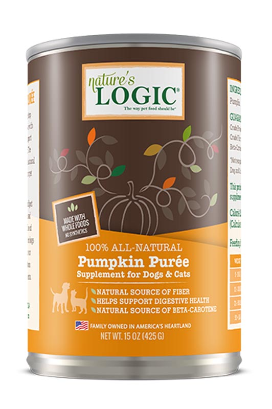 Nature's Logic Pumpkin Puree, 15 oz