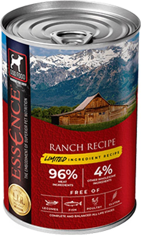 Essence Ranch Limited Ingredient Recipe Dog Food, 13 oz