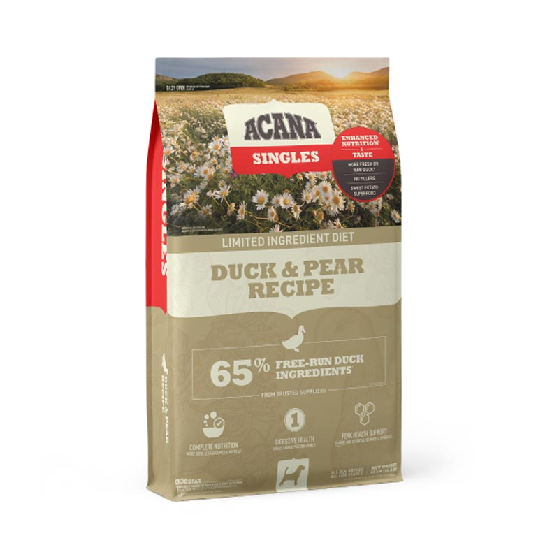 Acana Singles Duck & Pear Dog Food, 12 oz