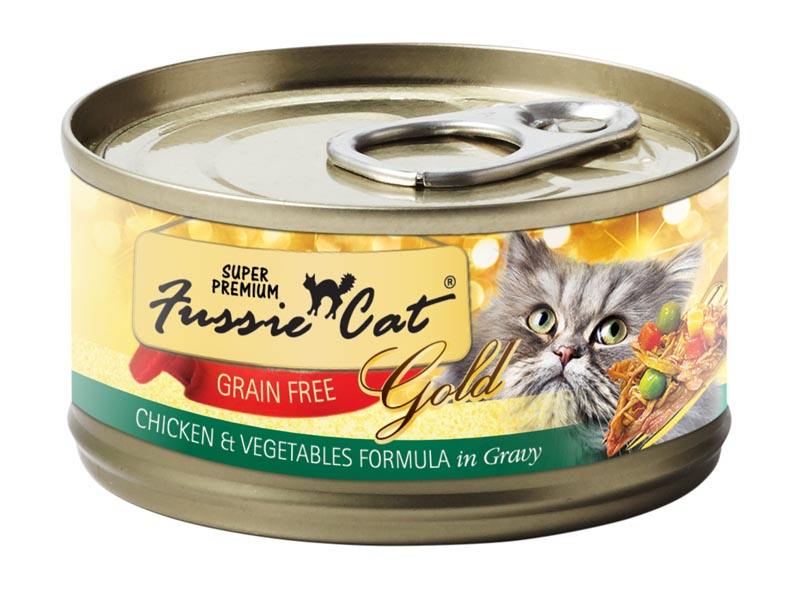 Fussie Cat Chicken & Vegetables Formula in Gravy, 2.8 oz