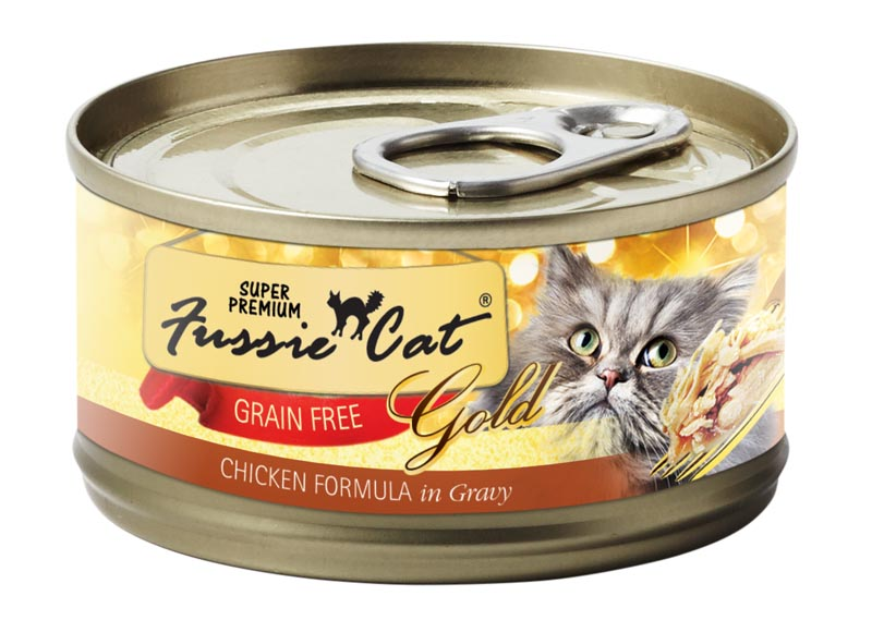 Fussie Cat Chicken Formula in Gravy, 2.8 oz