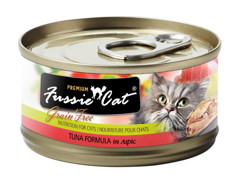 Fussie Cat Tuna Formula in Aspic, 2.8 oz