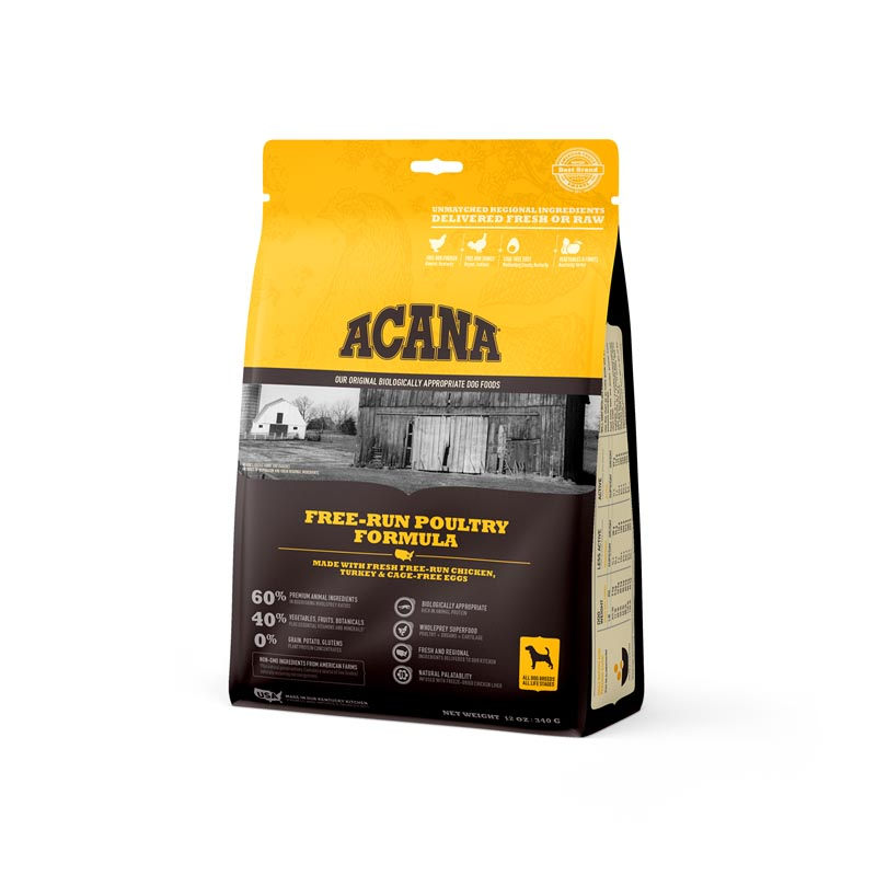 Acana Free-Run Poultry Dog Food, 12 oz