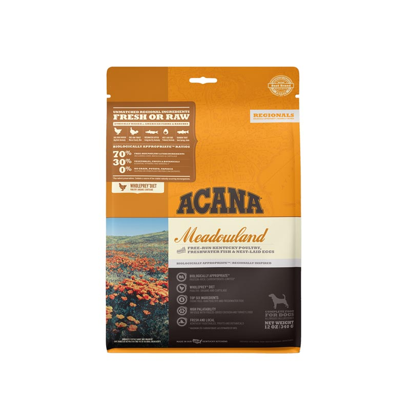 Acana Meadowland Formula Dog Food, 12 oz