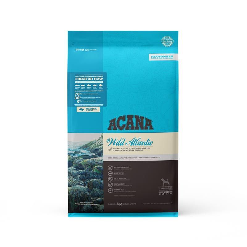 Acana Wild Atlantic Formula Dog Food, 25 lbs