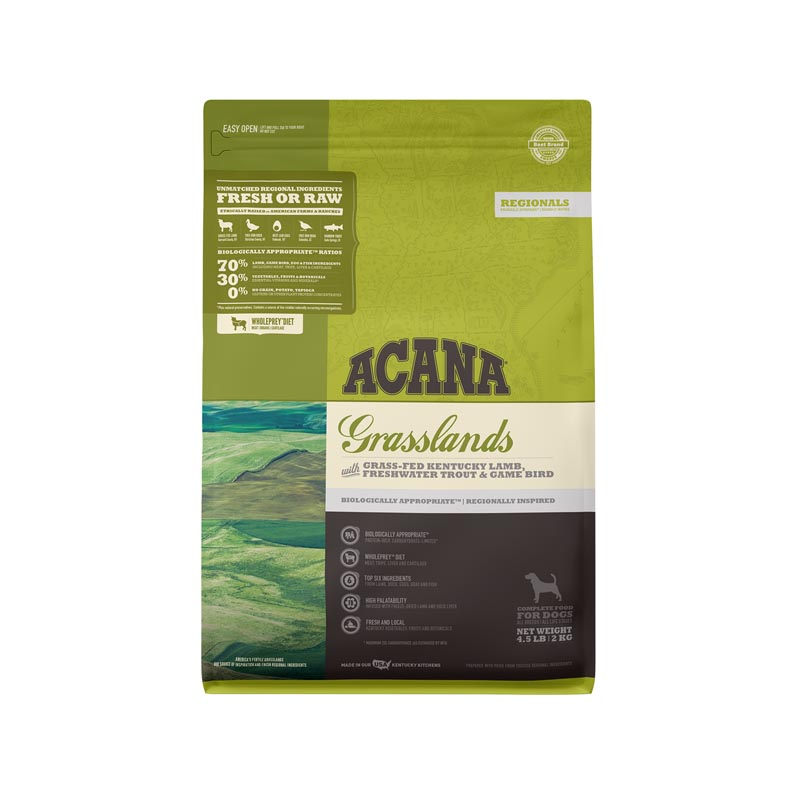 Acana Grasslands Formula Dog Food, 4.5 lbs