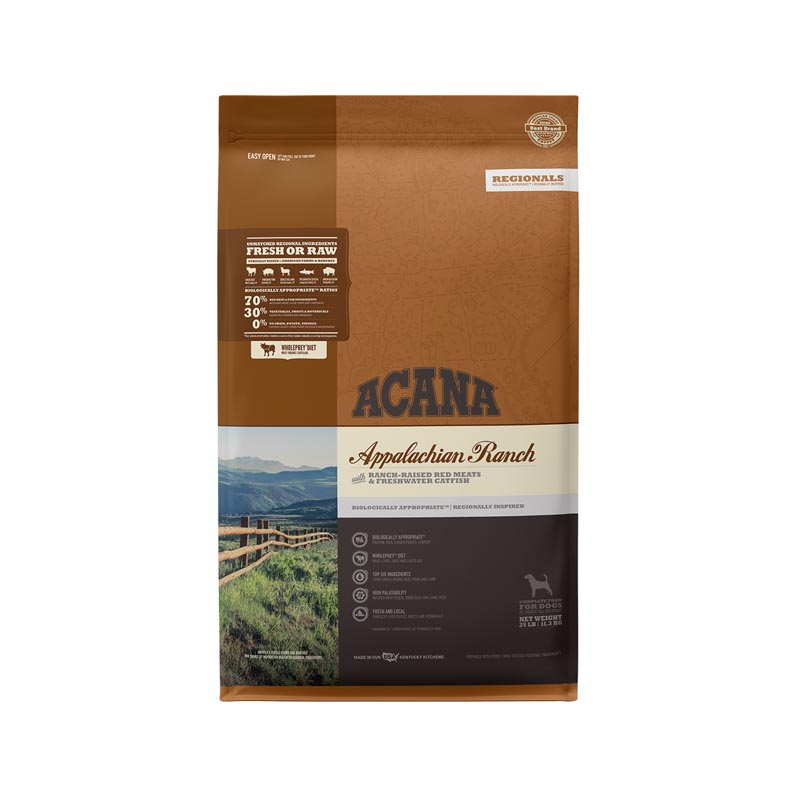 Acana Appalachian Ranch Dog Food, 25 lbs