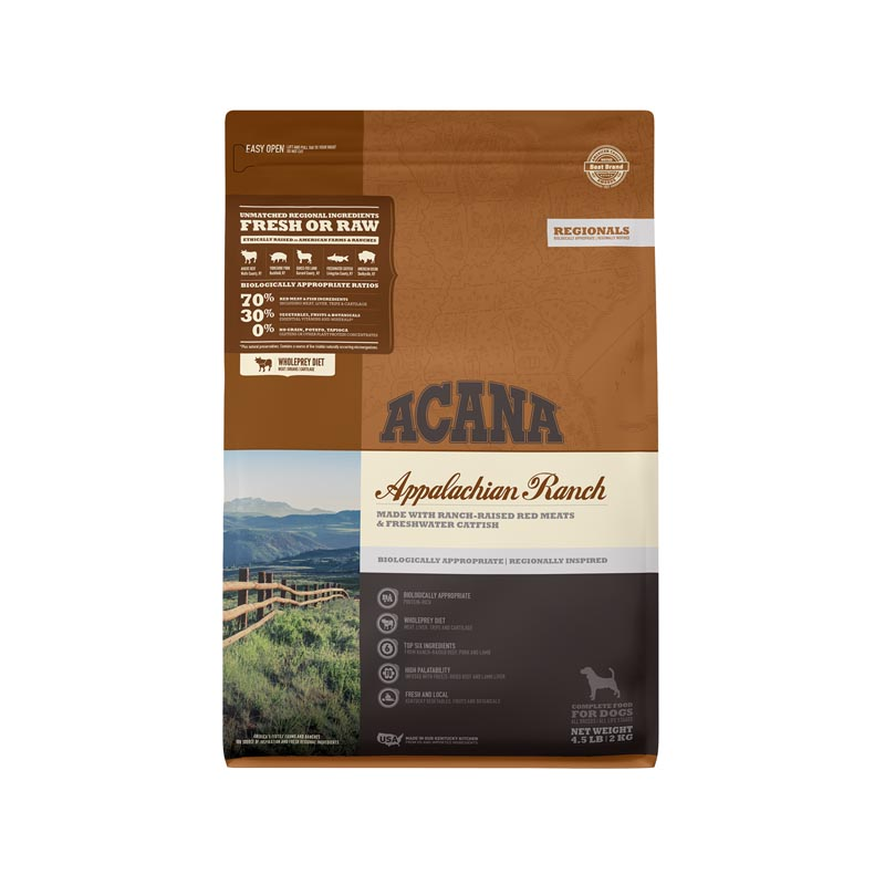 Acana Appalachian Ranch Dog Food, 4.5 lbs