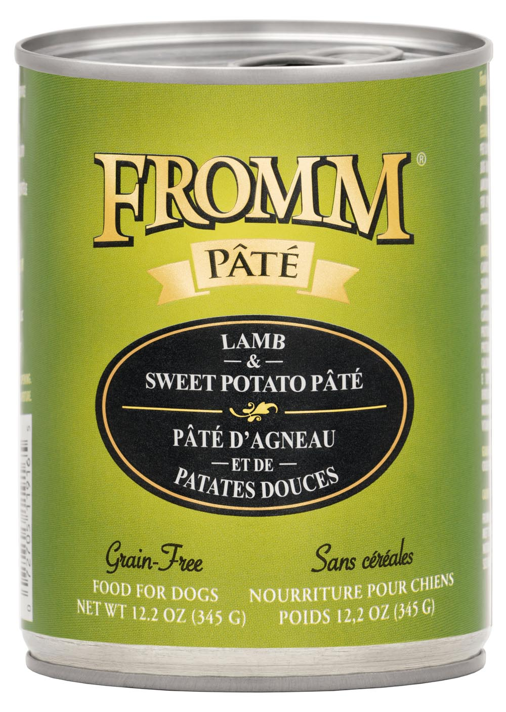 Fromm Lamb & Sweet Potato Pate Food for Dogs, 12.2 OZ