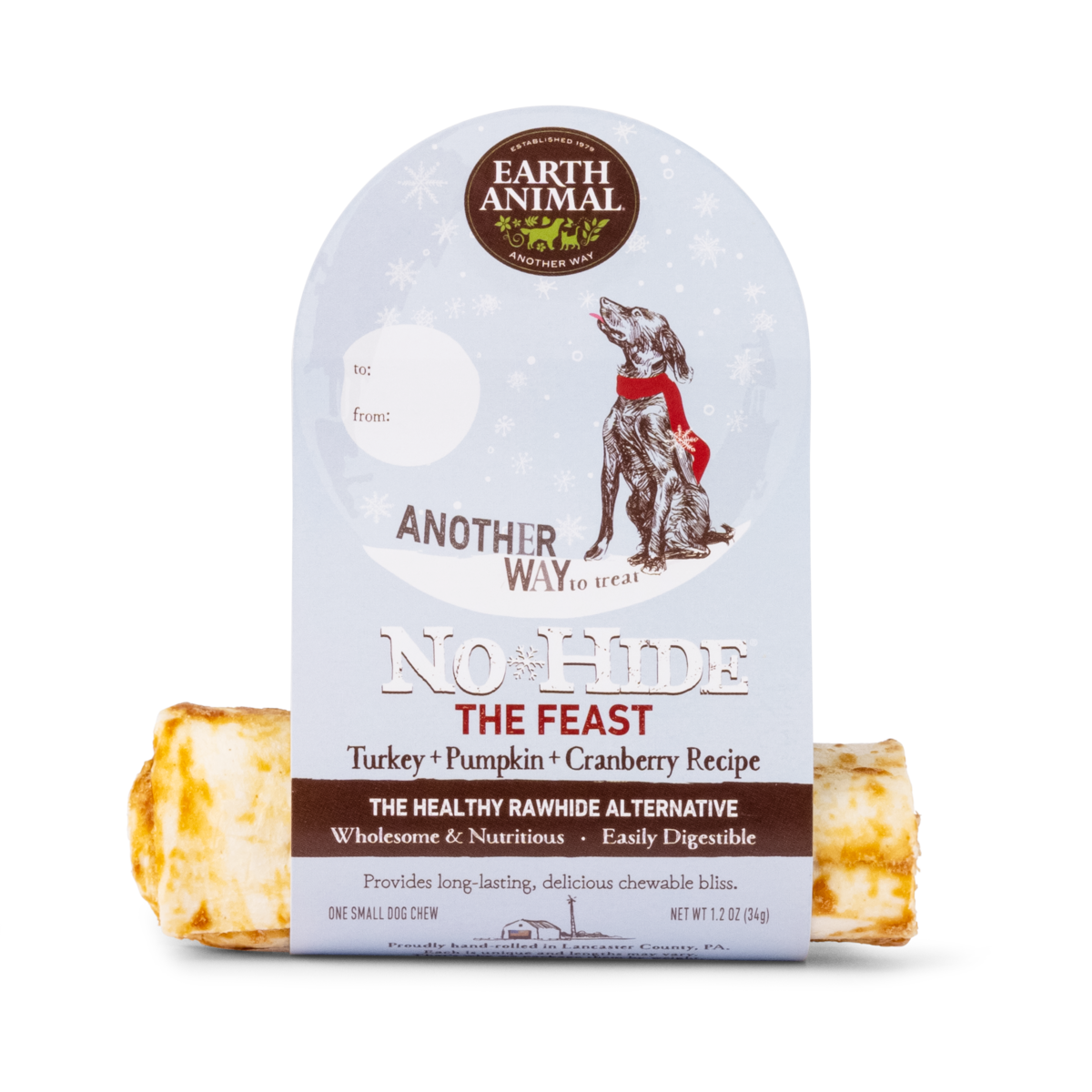 Earth Animal The Feast No-Hide Wholesome Chews - Small