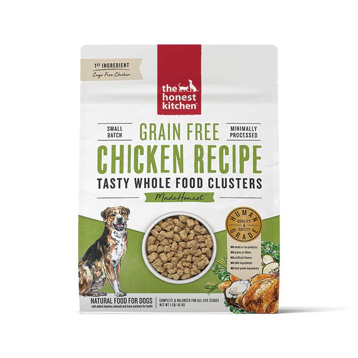 The Honest Kitchen Whole Food Clusters - Grain Free Chicken, 1 lb