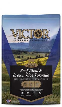 VICTOR Beef Meal & Brown Rice Formula Dog Food, 40 lbs