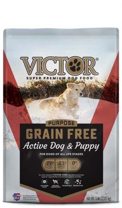 Victor Grain Free Active Dog & Puppy for All Life